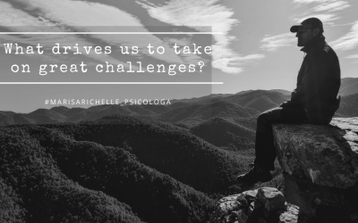 What drives us to take on great challenges