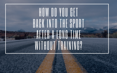 How to get back into the  sports after a long time without training?